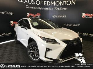 New 2019 Lexus RX 350 F Sport Series 3 for sale in Edmonton, AB