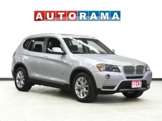 Used 2013 BMW X3 NAVIGATION LEATHER SUNROOF AWD for sale in Toronto, ON