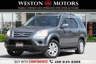 Used 2005 Honda CR-V EX-L*LEATHER*POWER GROUP*CERTIFIED! for sale in Toronto, ON