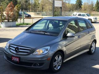 Used 2008 Mercedes-Benz B-Class B200 Turbo|NO ACCIDENT for sale in Cambridge, ON
