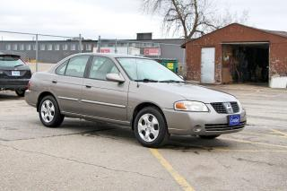 Used 2005 Nissan Sentra 1.8 Special Edition for sale in Brampton, ON