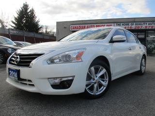 Used 2014 Nissan Altima 2.5-SL-TECH-PKG-NAVI-CAM-LTHER-ROOF-BLUETOOTH-ALLO for sale in Scarborough, ON