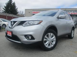 Used 2016 Nissan Rogue AWD-NAVI-CAM-PANO-ROOF-HEATED-BLUETOOTH-ALLOY for sale in Scarborough, ON