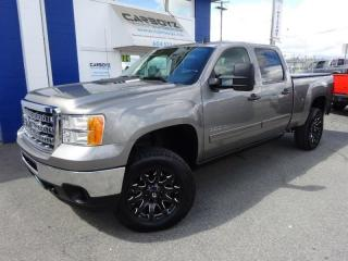 Used 2014 GMC Sierra 3500 SLE Z71 4x4, Crew, 6.6 Box, Diesel, Leather for sale in Langley, BC