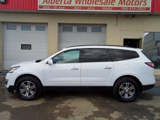 Used 2017 Chevrolet Traverse LT for sale in Edmonton, AB