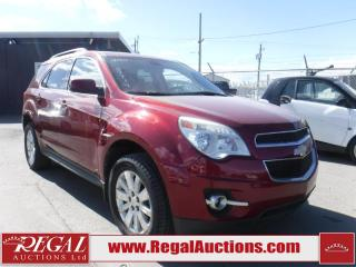 Used 2010 Chevrolet Equinox LT 4D Utility AWD for sale in Calgary, AB