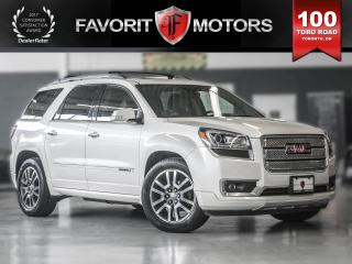 Used 2014 GMC Acadia DVD | NAVIGATION | SUNROOF | LEATHER for sale in North York, ON