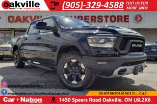 Used 2019 RAM 1500 REBEL 4X4 | NAV | PANO | BSM | TOW MIRRORS for sale in Oakville, ON