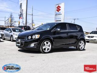 Used 2016 Chevrolet Sonic LT for sale in Barrie, ON