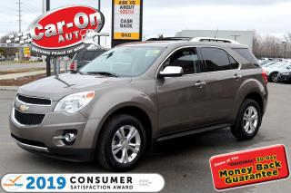 Used 2012 Chevrolet Equinox LTZ AWD LEATHER REAR CAM HTD SEATS for sale in Ottawa, ON
