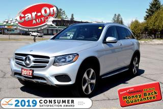 Used 2017 Mercedes-Benz GLC 300 4MATIC AWD LEATHER NAV PANO ROOF for sale in Ottawa, ON