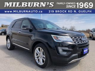 Used 2017 Ford Explorer Limited AWD / NAV / DUAL SUNROOF for sale in Guelph, ON