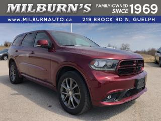 Used 2018 Dodge Durango GT AWD / NAV for sale in Guelph, ON