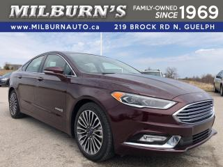 Used 2018 Ford Fusion Hybrid Titanium / NAV / SUNROOF for sale in Guelph, ON