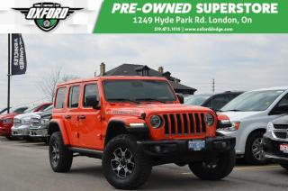 Used 2019 Jeep Wrangler Unlimited Rubicon - Heated Seats/Steering, Low Kms for sale in London, ON