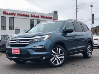 Used 2016 Honda Pilot Touring - Navigation - DVD - Leather for sale in Mississauga, ON