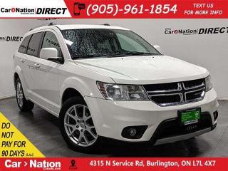 Used 2011 Dodge Journey SXT| AS-TRADED| BACK UP CAMERA & SENSORS| for sale in Burlington, ON