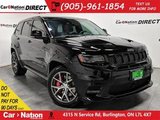 Used 2017 Jeep Grand Cherokee SRT  RED LAGUNA LEATHER  LOW KM'S  PANO ROOF  for sale in Burlington, ON