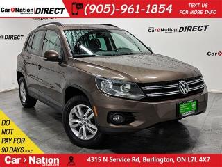 Used 2015 Volkswagen Tiguan Trendline| AWD| HEATED SEATS| LOCAL TRADE| for sale in Burlington, ON
