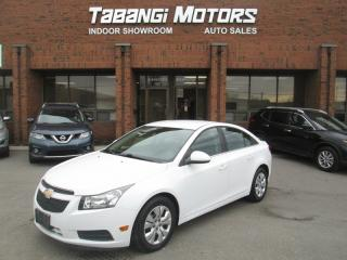Used 2013 Chevrolet Cruze LT | NO ACCIDENTS | KEYLESS | CRUISE | BLUETOOTH for sale in Mississauga, ON