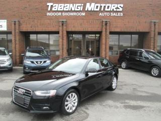 Used 2014 Audi A4 QUATTRO | NO ACCIDENTS | LEATHER | SUNROOF | HEATED SEATS for sale in Mississauga, ON