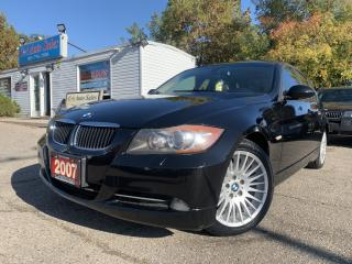 Used 2007 BMW 3 Series 4dr Sdn 328xi AWD|ACCIDENT FREE|BRAND NEW TIRES| for sale in Brampton, ON