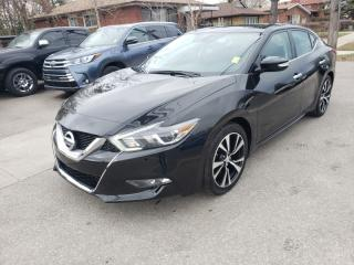 Used 2018 Nissan Maxima 4dr - Leather, Sunroof, Navigation for sale in Toronto, ON