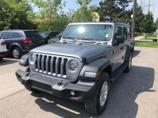 Used 2018 Jeep Wrangler UNLIMITED SPORT 4x4 for sale in Toronto, ON