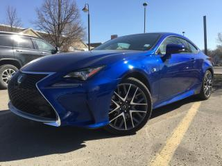 Used 2015 Lexus RC 350 2DR CPE AWD for sale in Edmonton, AB