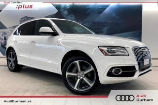 Used 2015 Audi Q5 3.0 TDI Technik + Diesel | S-Line | Rear Cam for sale in Whitby, ON