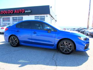 Used 2017 Subaru Impreza WRX SPORT AUTOMATIC CAMERA CERTIFIED WARRANTY for sale in Milton, ON