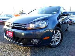 Used 2011 Volkswagen Golf TDI Comfortline Bluetooth Heated-Seat Certified for sale in Guelph, ON