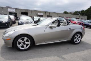 Used 2008 Mercedes-Benz SLK 280 V6 Convertible Auto Leather for sale in Milton, ON