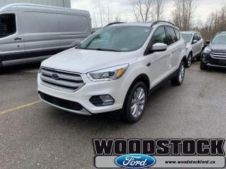 New 2019 Ford Escape SEL 4WD  - Navigation - Sunroof for sale in Woodstock, ON