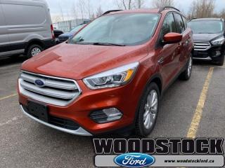 New 2019 Ford Escape SEL FWD  - Navigation - Sunroof for sale in Woodstock, ON
