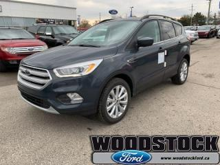 New 2019 Ford Escape SEL 4WD  - Sunroof - Navigation for sale in Woodstock, ON