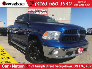 Used 2017 RAM 1500 Outdoorsman|NAVI|CREW CAB|4X4|6 PASS|5.7L V8|CAM for sale in Georgetown, ON