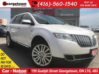 Used 2013 Lincoln MKX NAVI | PANOROOF | AWD | BACK UP CAM | LEATHER for sale in Georgetown, ON