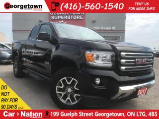 Used 2017 GMC Canyon All Terrain|EXT CAB|4X4|V6|LEATHER TRIM|CAMERA for sale in Georgetown, ON