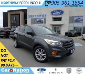Used 2017 Ford Escape KEYLESS ENTRY | BACKUP CAM | AUTO HEADLIGHTS | for sale in Brantford, ON