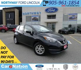 Used 2018 Nissan Versa Note SV   HTD SEATS   BACK UP CAM   USB/AUX   for sale in Brantford, ON