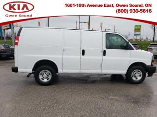 Used 2018 Chevrolet Express Cargo Van WT  -  - Air for sale in Owen Sound, ON