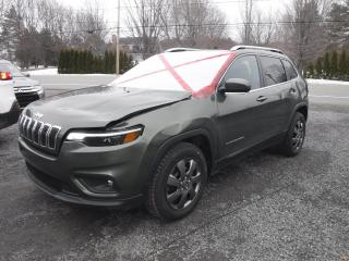 Used 2019 Jeep Cherokee NORTH 4X4 for sale in St-Pierre-Les-Becquets, QC