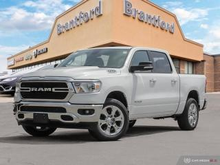 New 2019 RAM 1500 Big Horn  - Remote Start - Uconnect - $306.22 B/W for sale in Brantford, ON