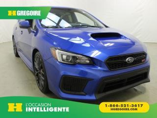 Used 2018 Subaru WRX STI Sport Awd for sale in St-Léonard, QC