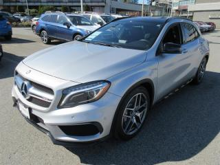 Used 2015 Mercedes-Benz GLA45 AMG 4MATIC SUV NAVIGATION   LEATHER   SUNROOF   BLUETOOTH for sale in Vancouver, BC