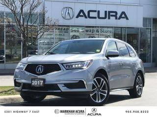 Used 2017 Acura MDX Navi SH-AWD, Blind Spot Ind, Pwr Liftgate for sale in Markham, ON
