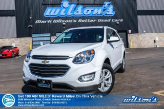 Used 2017 Chevrolet Equinox LT AWD - Rear Camera, Bluetooth, Blind Spot & Rear Cross Traffic Alert, MyLink & Much More for sale in Guelph, ON