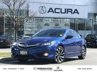 Used 2016 Acura ILX A-Spec Navi, Fog Lights, Blind Spot Indicators for sale in Markham, ON