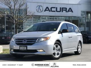 Used 2013 Honda Odyssey Touring at Navi, Park Sensors, Ultrawide DVD for sale in Markham, ON